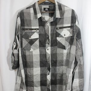 Rock & Republic XXL Button Down Shirt NWT